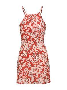 The Sunny Morning Glory - Halter Neck Floral Mini Dress Best Summer Dresses, Beach Dresses, Sun Dresses, Floral Dresses, Where To Buy Clothes, Halter Mini Dress, Silk Crepe, Everyday Outfits, Pretty Dresses
