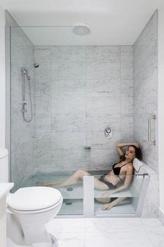 tub shower combo ideas: Tiny Bathroom Tub Shower Combo Remodeling Ideas Bathrooms Cool Stand Small Bathtub Over Bath Corner Walk One Piece Soaking Surround And Stalls Jetted ~ extremicure Tiny Bathrooms, Tiny House Bathroom, Bathroom Closet, Small Bathroom Bathtub, Gold Bathroom, Beautiful Bathrooms, Modern Bathtub, Narrow Bathroom, Bathroom Mirrors