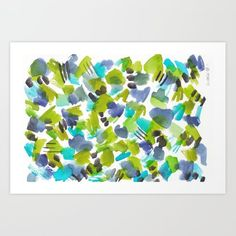 valourine - (via 180803 August Abstract 8 Abstract Art For Sale, Colorful Abstract Art, Watercolor Art Paintings, Abstract Canvas, Watercolor Ideas, Watercolor Artists, Wall Art Prints, Canvas Prints, Watercolor Pattern