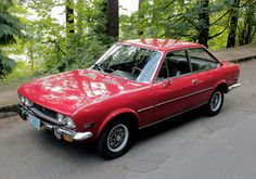 1971 Fiat 124 Coupe
