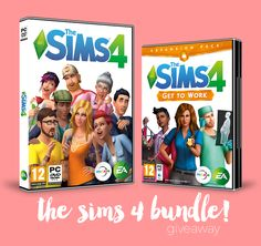 infinito mais um: GIVEAWAY | The Sims 4 Bundle