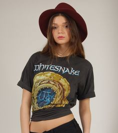WHITESNAKE Vintage 80s Tour Tshirt Official by LotusvintageNY