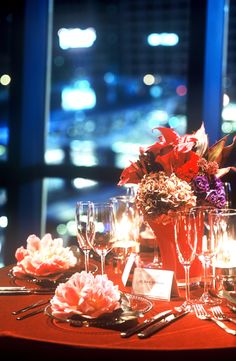 # Vress et Rose # Wedding # red# table coordinate# Guest table#smoky pink # natural # Flower # Bridal # ブレスエットロゼ #ウエディング# 赤 #ボルドー#レッド #シンプル # ゲストテーブル #テーブルコーディネート # ナチュラル# ナイトウェディング# ブライダル#結婚式