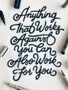 Beautiful Quote #calligraphy #goodtype #lettering #quotes #typography #typographyinspire