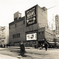 The valentine theatre in the Bronx across the street from the RKO Fordham