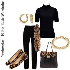 """""""Workshopping the 10 Piece Basic Wardrobe"""" by annabouttown on Polyvore"""
