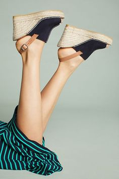 Slide View: 1: Anthropologie Espadrille Wedge Sandals