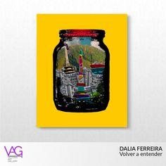 """In """"Volver a entender"""" (To understand again), Dalia Ferreira plays with the way she sees Caracas, Venezuela  / En la pieza """"Volver a entender"""" Dalia Ferreira juega con su forma de ver Caracas, Venezuela"""