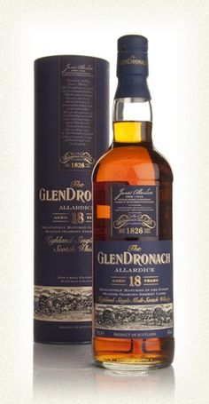 GlenDronach 18 Year Old Allardice (46%)