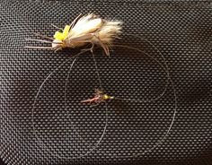 """The classic """"hopper-dropper"""" is a summertime staple, but there are lots more options. Photo by Phil Monahan For the vast majority of anglers, the basic fly-fishing rig is very simple: they tie a single fly to the end of a tapered leader and start casting. And this method obviously works fine, most of the. . .Read More »"""