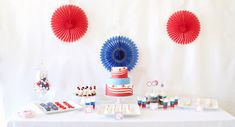 4th of July Party Spread + Ideas + Treats