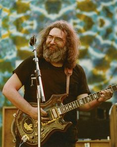 Jerry Garcia, glad I got to see the Dead in '78