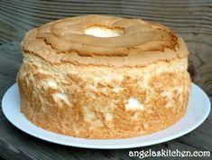 Gluten Free Dairy Free Lemon Angel Food Cake
