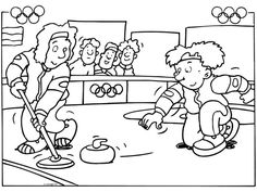 meester Henk - Olympische Winterspelen :: olympischewinterspelen.yurls.net Winter Olympic Games, Winter Olympics, Winter Activities For Kids, Physical Education Games, Color By Numbers, Cartoon Coloring Pages, Coloring For Kids, Comics, Drawings
