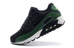 Nike Air Max 90 Calidad suprema EM Zapatillas para Hombre Negras/Verdes http://www.esnikerun.com/