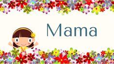 """""""Mama"""" - ein Lied für Muttertag oder einfach das ganze Jahr - NOTEN & mp3 hier: www.kitakiste.jimdo.com"""