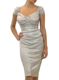 Nigella Dress in Champagne