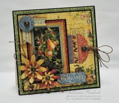 Aspiring to Creativity: G45 French Country Sq Cards
