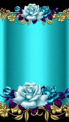 Blue flowers and fun time Blue Flower Wallpaper, Heart Wallpaper, Butterfly Wallpaper, Cellphone Wallpaper, Colorful Wallpaper, Iphone Wallpaper, Blue Wallpapers, Pretty Wallpapers, Flower Backgrounds