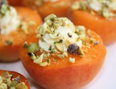 Easy Apricot Bites ♦ A quick easy snack using fresh apricots