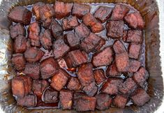 Smoker Recipes 69985 Pork Belly Burnt Ends are so easy to make and the most flavorful and tender smoked meat you could ever want! This is a pork version of burnt ends. Recipe Video how to and recipe! Pork Belly Recipe Oven, Pork Belly Recipes, Rib Recipes, Pork Cubes Recipes, Filipino Recipes, Smoked Meat Recipes, Smoked Pork, Smoker Recipes, Barbecue