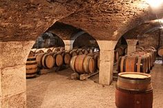 Burgundy, Barrel, Barrels, Cave