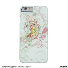 Lucky Goat   phone case Barely There iPhone 6 Case