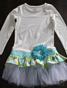 Tu-Tu T-Shirt Dress | How Lovely It Is