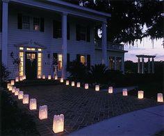Candele matrimonio, idee per l'allestimento  - Illuminazione matrimonio