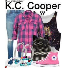 Inspired by Zendaya as K.C. Cooper on K.C. Undercover.
