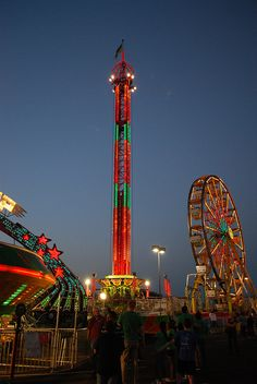 Carnival Neon Lights by Dummaniosa, via Flickr