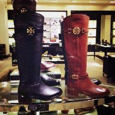 Tory Burch boots by Antonella Fanelli