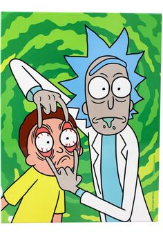 rick and morty painting canvas \ rick and morty _ rick and morty painting _ rick and morty wallpaper _ rick and morty tattoo _ rick and morty aesthetic _ rick and morty quotes _ rick and morty memes _ rick and morty painting canvas Cute Canvas Paintings, Small Canvas Art, Mini Canvas Art, Painting Canvas, Hippie Painting, Trippy Painting, Cartoon Painting, Rick And Morty Drawing, Rick And Morty Tattoo