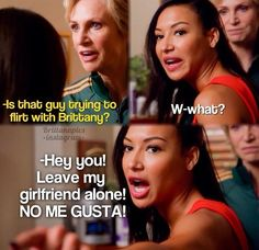 Brittana is real!