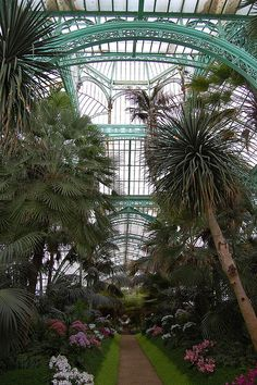 victorian greenhouses the dome of the royal greenhouse of laeken brussels the somber home. Black Bedroom Furniture Sets. Home Design Ideas