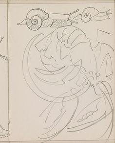 Slakken en een krab, Reijer Stolk, , c. 1916
