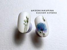 Акварельные дизайны. Ксения Купина. #nail #nailart #Watercolornailart #Naildesign #nageldesign #KseniaKupina #ногти #маникюр #дизайнногтей #акварельнаногтях #КсенияКупина