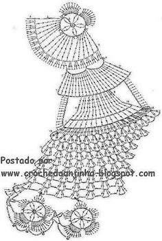Crochet Doily Free Patterns includes great variations including witch