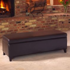 Hartford Bonded Leather Storage Bench - http://www.costco.com/Hartford-Bonded-Leather-Storage-Bench.product.11118503.html - $229.99