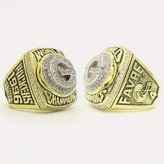 Custom 1996 Super Bowl XXXI Green Bay Packers Championship Ring