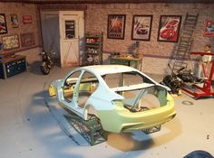 BMW 3 1:18 by Norev, creating an M-performance rear bumper