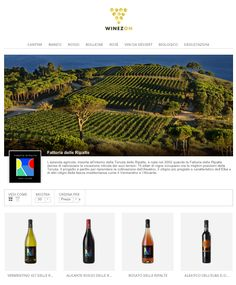 Today only one winery in 25 has its own Ecommerce: @winezon  was created to fill the gap - Carola Pisano for Tomato Mag http://www.tomatomag.com/wordpress/it/winezon-dalla-cantina-al-consumatore-passando-per-il-web/