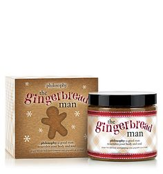 Treat yourself this holiday season when you feel stressed or tired. Five minutes with the gingerbread man will leave you feeling soft, fresh, and invigorated :)