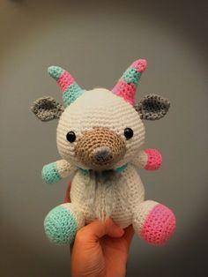 Goat crochet amigurumi doll by ellodeebya on Etsy