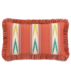 Maldive Nosara Sunset Lumbar Pillow