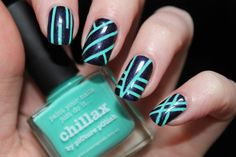 piCture pOlish Blog/Insta Fest 2014 - Chillax & Believe + Straight NailVinyls = nails by Shasha Vernis Addict! Shop on-line: www.picturepolish.com.au