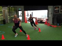 CAPGroup- Chelsea Pitman & Whitney Souness: What speed and fast feet looks like... - YouTube