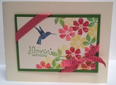 Bloomin Marvelous, too. Stampin' Up! Sale-a-Bration