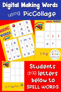 Guided Making Words