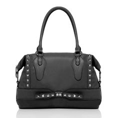 This luxe bag looks like it could have walked right off the Valentino runway and onto the arm of a rich socialite.  But at just $39.95, it's actually within reach for the rest of us!